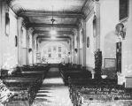 Interior of Plaza Church