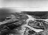 Aerial view of Port of Los Angeles