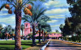 El Mirador Hotel, a color postcard