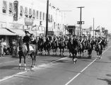 Women on horses, Wilmington parade
