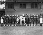Wilmington Majorettes, group photo