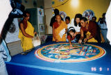 Tibetan monks' mandala