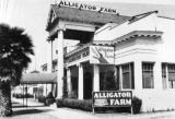 Alligator Farm building, exterior