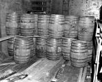 Barrels of liquor