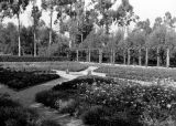 In the gardens, Scripps College