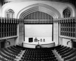 Bovard auditorium at U.S.C., interior view