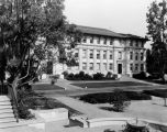 Exterior of Johnson Hall, Occidental College