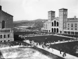 Exterior view of Royce Hall at U.C.L.A.