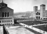 Royce Hall at U.C.L.A., exterior view