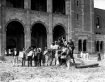 Moving day at Royce Hall, U.C.L.A., view 2