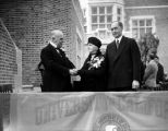 Dedication of Kerckhoff Hall, U.C.L.A., view 1