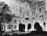 Cloister and tower, Kerckhoff Hall at U.C.L.A.