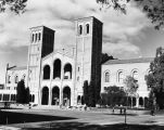 Afternoon view of Royce Hall, U.C.L.A.