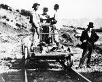 Chinese railroad workers near Lang
