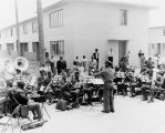Band performs at Pueblo Del Rio Project