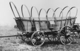 """Topless"" covered wagon"