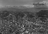 Hollywood northwest, aerial view