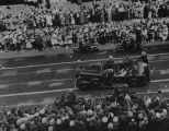 FDR's motorcade in Los Angeles