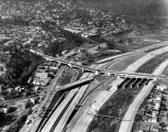 Golden State Freeway, aerial