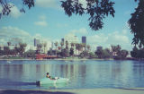 Boating on MacArthur Park