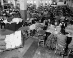 Sewing room, WPA Los Angeles
