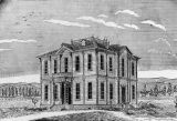 Widney Hall at U.S.C., a drawing