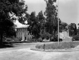 Exterior of Johnson Hall at Occidental College