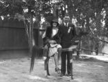 Jack Dempsey and his wife