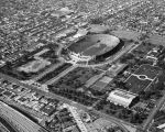 Aerial view of the Coliseum