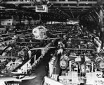 Aircraft assembly plant, interior
