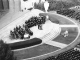 Graduation ceremony at the Bowl