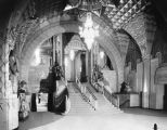 Interior staircase, Pantages Theatre