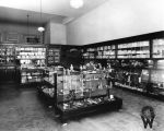 Interior of Lee's Pharmacy