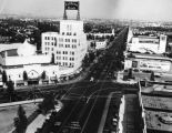Wilshire Boulevard and Beverly Drive