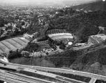 Aerial of the Hollywood Bowl