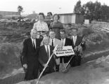 Groundbreaking ceremony at Panorama City Branch