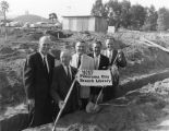 Panorama City Branch, groundbreaking ceremony