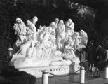Forest Lawn's Mystery of Life statue