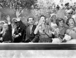 Richard Nixon and family at Disneyland