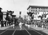 1938 Tournament of Roses Parade band