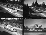 1933 Tournament of Roses Parade float, views 4-7