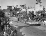 1937 Tournament of Roses Parade floats