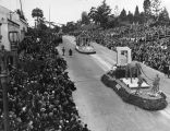 1939 Tournament of Roses Parade floats