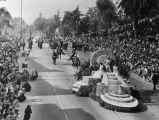 1947 Tournament of Roses Parade float