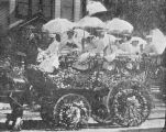 1902 Tournament of Roses Parade carriages