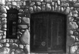 Front door of Lummis' house