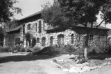 Exterior of Lummis' house