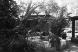 Patio of Lummis' house
