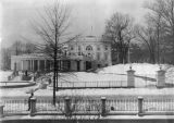 White House in winter