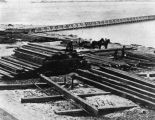 Wilmington breakwater construction